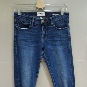 Frame Denim Size 26 Le Garcon Jeans Slim Cuffed